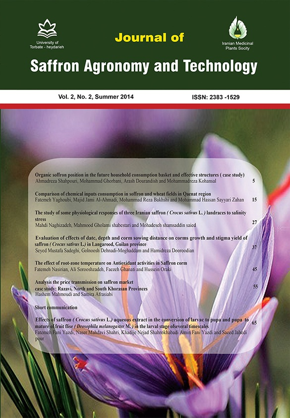 Saffron agronomy and technology